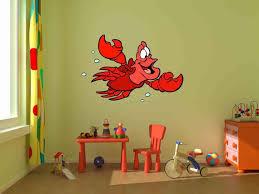 Disney Decalssebastian Decal Little Mermaid Artremovable Etsy