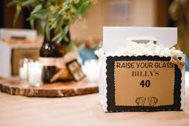 40th birthday party ideas for him