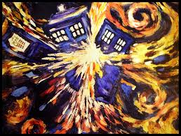48 doctor who van gogh wallpaper on