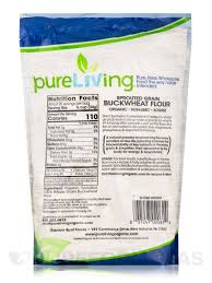 buckwheat flour whole grain 24 oz