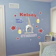 Gymnastics Wall Decals Home Decor