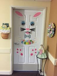 So Cute For A Kids Bedroom Door Easter Bunny Door Decoration Diy Easter Decorations Easter Door Decor