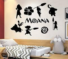 Amazon Com Disney Wall Decal Moana Wall Decal Decor Disney Movie Quote Decal Girls Room Decor Moana Gift 4153 Handmade