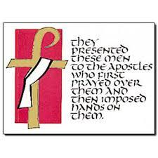 deacon ordination card st patricks guild