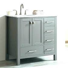 small bathroom sink units single