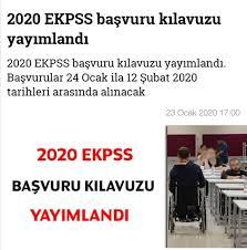 2020 E-KPSS Başvuru Kılavuzu Yayınlandı. - Saadet Özel Eğitim ...