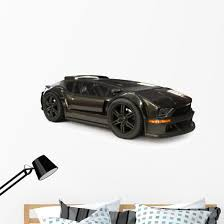 Custom Exotic Sports Car Wall Decal Wallmonkeys Com