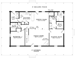 simple one story bedroom house plans