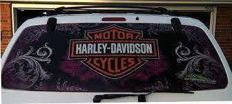 Harley Davidson Window Perf Window Graphics Wraps Gatorwraps