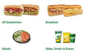 subway menu nutrition south africa