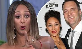 Tamera Mowry defends former Fox News reporter husband Adam Housley against  racism accusations | Daily Mail Online