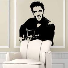 Rock Music Elvis Presley Vinyl Decoration Home Wall Stickers Wall Decals Elvis12 Home Decor Creative Music Party Supply Sticker Wall Decal Wall Decalsrock Music Aliexpress