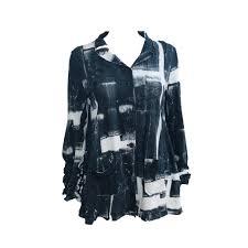 studio rundholz print jacket black