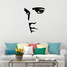 Elvis Presley Wall Decal Sticker Vinyl Sticker Silhouette Wall Art Mural Free Shipping P2027 Wall Decals Stickers Vinyl Stickersdecal Sticker Aliexpress