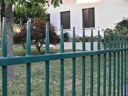 Bar Steel Fence Conisar Flat By Grigliati Baldassar