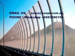 Clear Acrylic Fence Panels Singapore Specialized Engineering Pte Ltd