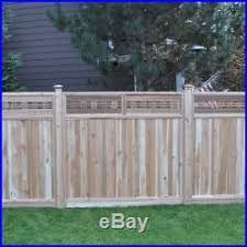 Wooden Fence Kit New