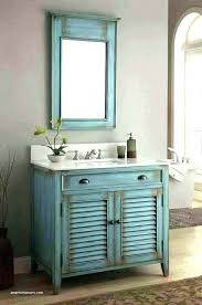 bathroom vanity and mirror set