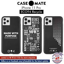 p2oMobile - In Stock Now! Case-Mate ECO94 Recycle for iPhone 11 ...