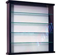solid wood and glass display unit