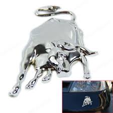 Free 3d Silvery Chrome Metal Bull Ox Emblem Car Truck Motor Sticker Auto Body Decal Accessories Listia Com Auctions For Free Stuff