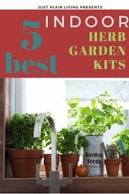 find the perfect indoor herb garden kit