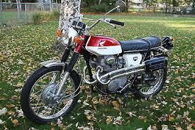 1969 honda cl350 scrambler motorcycles