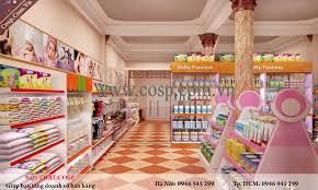 Thiết kế cửa hàng đồ sơ sinh mẹ và bé - cô Xuân - Lạng Sơn diện tích 30m2