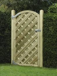 V Arched Gate Hillsborough Fencing