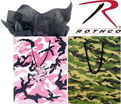 camouflage gift bags little g i joes