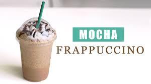 how to make starbucks mocha frappuccino