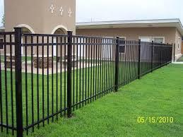 Pin By Maureen Gage On Fence Ideas Rod Iron Fences Iron Fence Fence Design