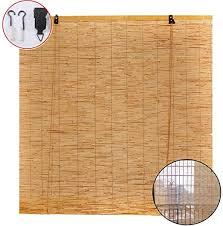 reed curtain bamboo shades patio