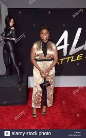 Idara Victor at the premiere of the movie 'Alita: Battle Angel' at ...