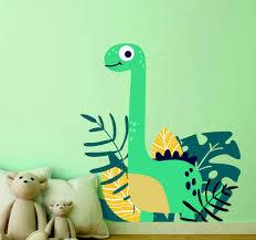 Cute Dinosaur In The Jurassic Park Wall Sticker Tenstickers