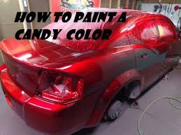 how to do a candy paint job you
