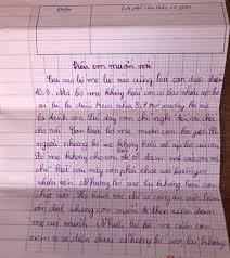Bức thư cậu bé lớp 4 viết về áp lực điểm 10 khiến cha mẹ 'sốc nặng ...
