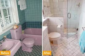 tub shower conversion before after with