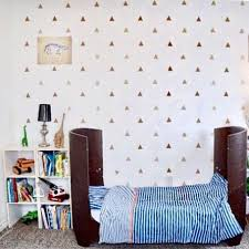 Triangles Wall Decal Accent Stickers Trendy Wall Designs