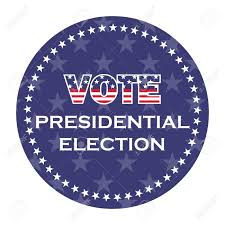 Us Presidential Election Vote Sticker Royalty Free Cliparts ...