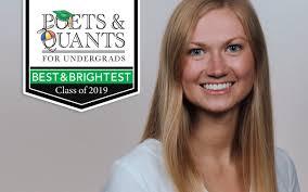 Poets&Quants For Undergrads | 2019 Best & Brightest: Alexandria Graham,  Ohio State (Fisher)