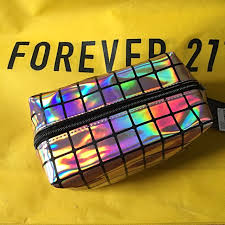 auth forever 21 holographic makeup kit