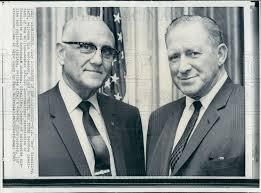 1969 Labor Leader Floyd Smith IAM Pres Press Photo | Historic Images
