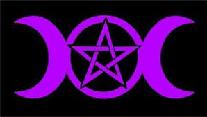 Triple Moon Goddess Decal Pentacle Wicca Pagan Witch Car Vinyl Altar Sticker Ebay