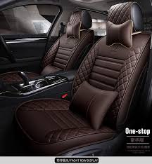 leather car seat covers for hyundai