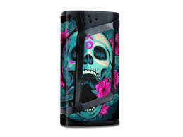 Skin Decal Vinyl Wrap For Smok Alien 220w Tc Vape Mod Stickers Skins Cover Skull Dia De Los Muertos Design Bird Newegg Com