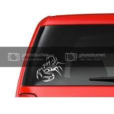 Customdecal Us Tribal Scorpion A6 Vinyl Decal Sticker Car Truck Laptop Netbook Window