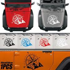 3d Universal Car Sticker Compass Navigate Mountain Off Road Decal No Fading Waterproof Dustproof Buy At A Low Prices On Joom E Commerce Platform
