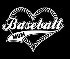 Amazon Com Baseball Mom Vinyl Sticker Decal 5 5 Width X 3 973 Height White Hgc0194 Computers Accessories