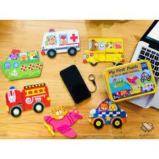 Bộ đồ chơi xếp hình bằng gỗ hộp sắt - P13254 | Sàn giao dịch Thương mại  điện tử của Bưu điện Việt Nam